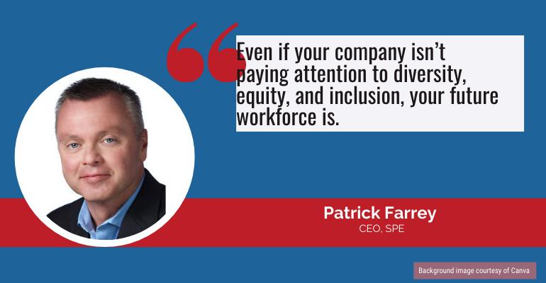 Patrick Farrey, SPE CEO