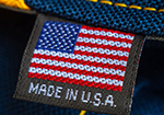 label saying made in USA