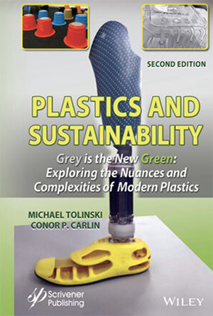 Plastics and Sustainability book cover