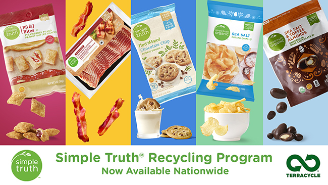 Kroger's Simple Truth Recycling program
