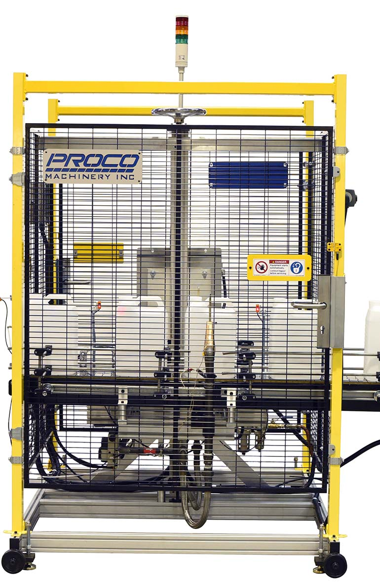 flame treater for automated bottle manufacturing