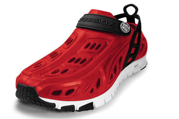 EVA-based Crosskix shoes out to give