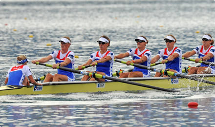 Dutch Rowing team
