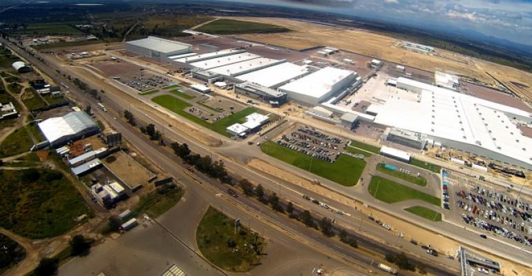 Mexico and the U.S. favored for next major automotive plant expansions