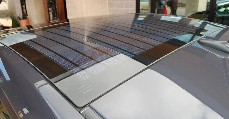 Konarka and Webasto to integrate Power Plastic into automotive roofs
