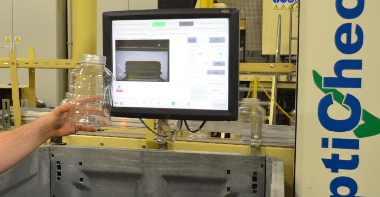 Updated: Controlling the blowmolding process