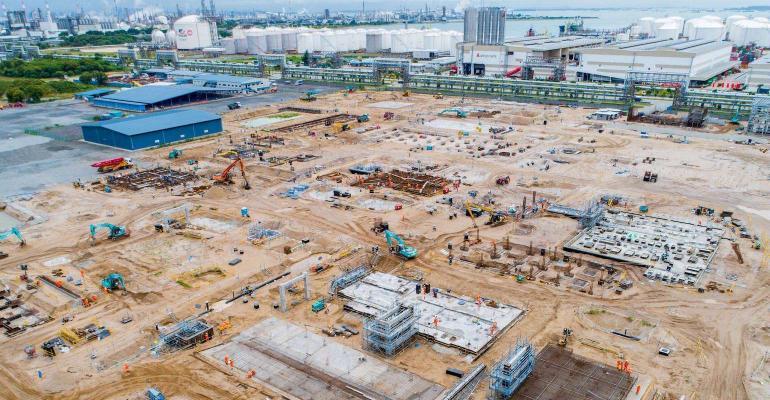 PA11 plant construction