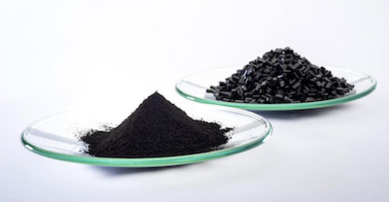 Black pigment extends service life of plastic components