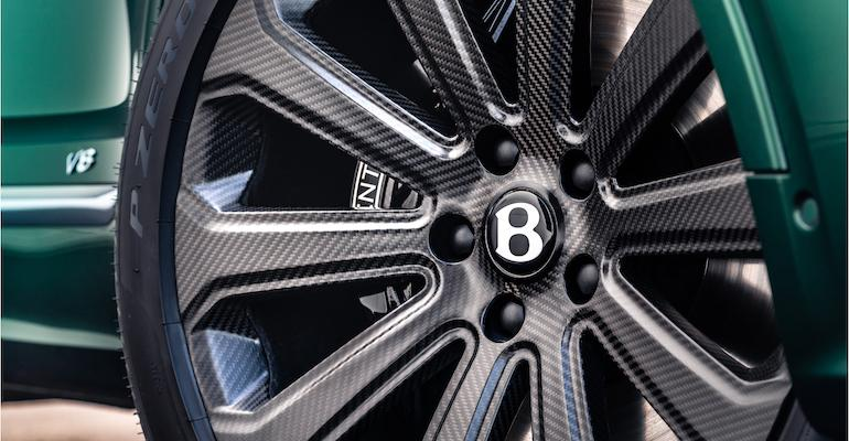Bucci Composites wheel on Bentley