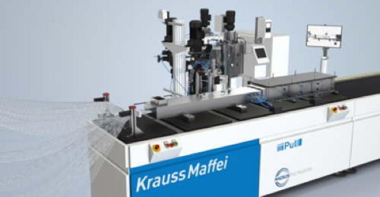 KraussMaffei accelerates pultrusion process