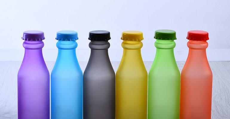PolyOne Frost Collection bottles group
