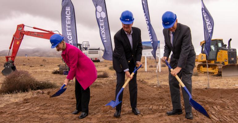 groundbreaking of Hexcel R&D center