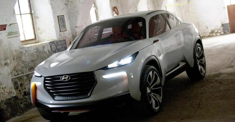Composites, eco-friendly materials deployed in Hyundai concept car