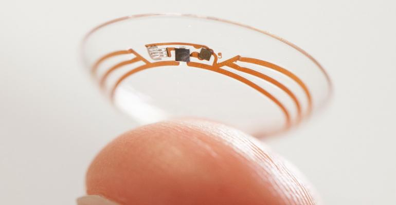 Plastics play key roles in Google X glucose eye sensor
