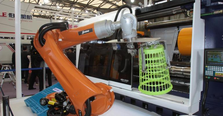 Industrial robots in China to overtake EU and North America by 2017