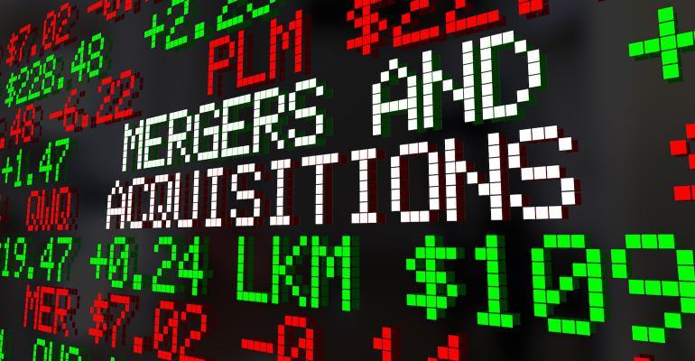 M&A on stock-market-like ticker