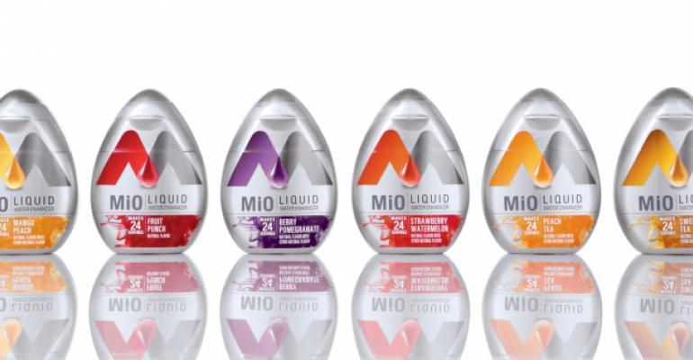 Kraft MiO packaging squeezes a shapely market niche