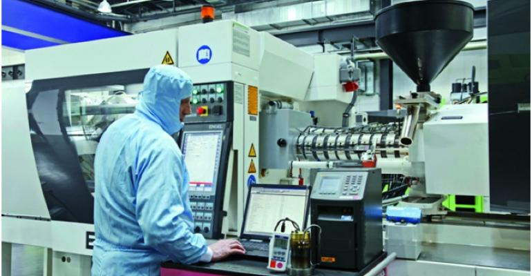Molding machine calibration program helps support medical success