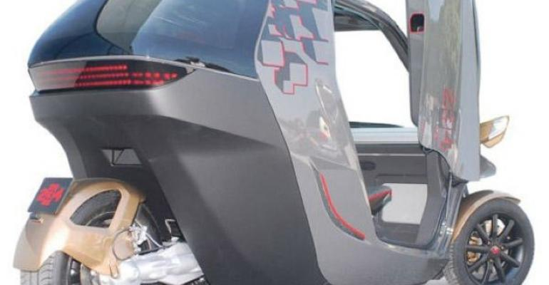 Plastic electric vehicle set to hit road in 2013