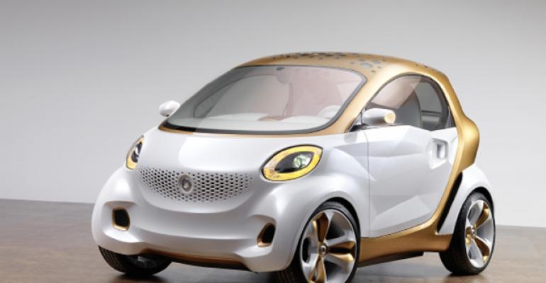 Concept EV rolled out on all-plastic wheels