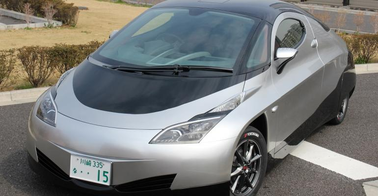 High-performance EV prototype utilizes polyamide materials