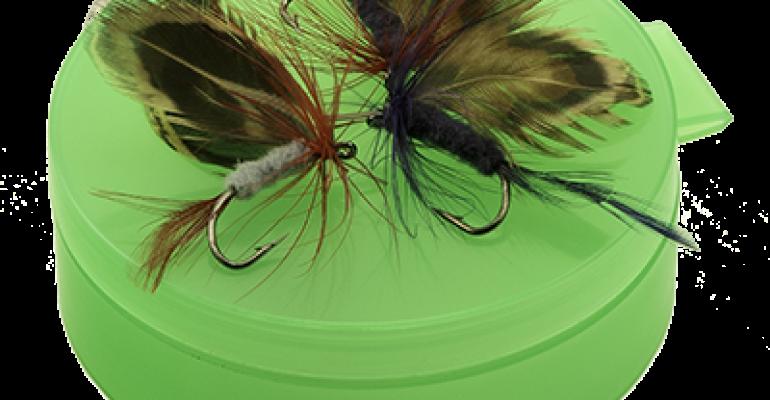 PlastiQ case with flies