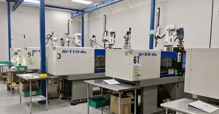 new injection molding machines