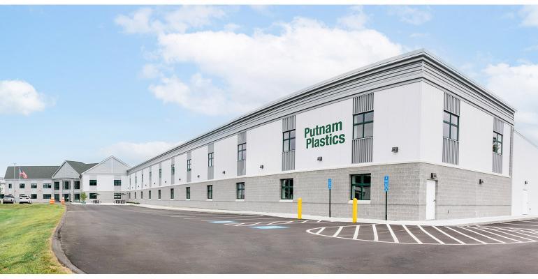 Expansion at Putnam Plastics' headquarters
