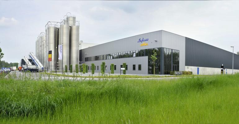 Sabic plant in Belgium