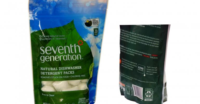 Dow collaboration creates recyclable packaging for Seventh Generation