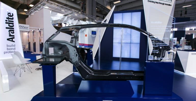 Huntsman Advanced Materials optimizes auto composites series applications