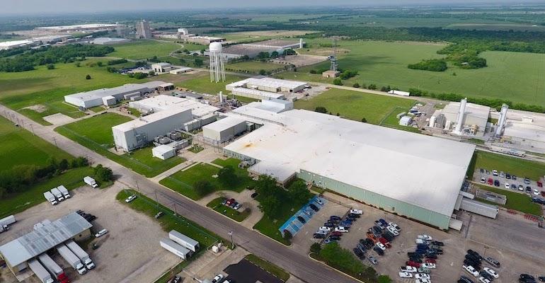 Solvay plant in Greenville, SC