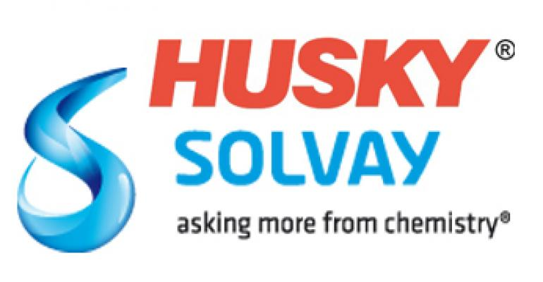 Solvay Husky logo combo