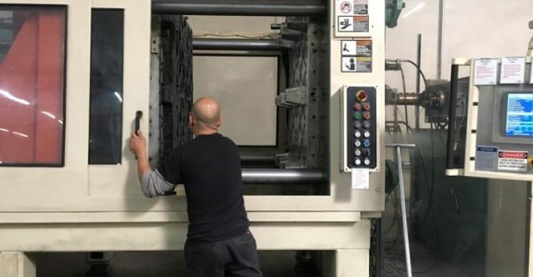 USDA ARS pallet molding at Tranpak