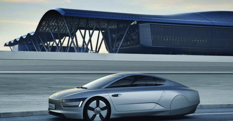 Polycarbonate glazing makes for lighter vehicle