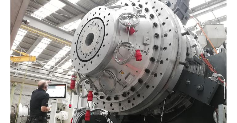 FDC pipe extrusion die