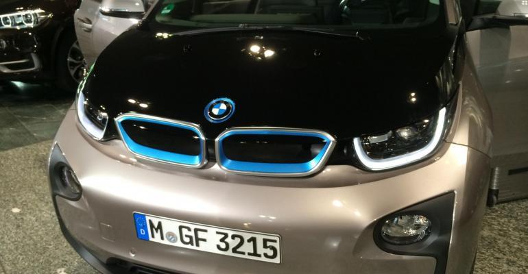 BMW: carbon fiber for affordable lightweight vehicle design?