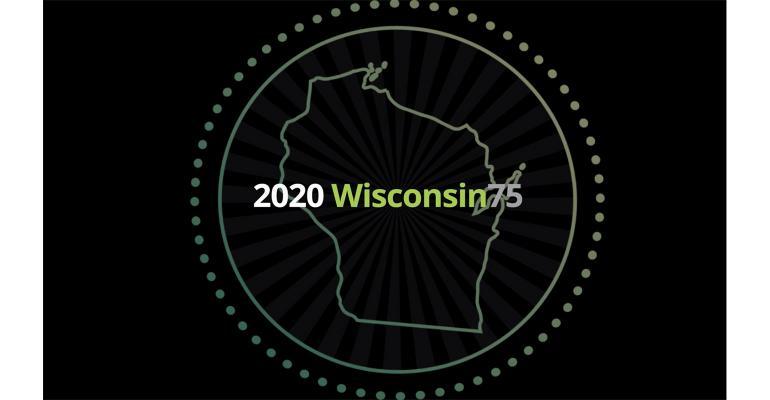 Deloitte Wisconsin 75 logo