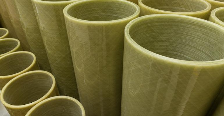 glass-fiber-reinforced-plastic water pipes from Dynexa