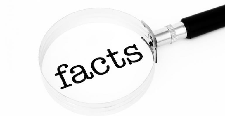 Fact check magnifying glass