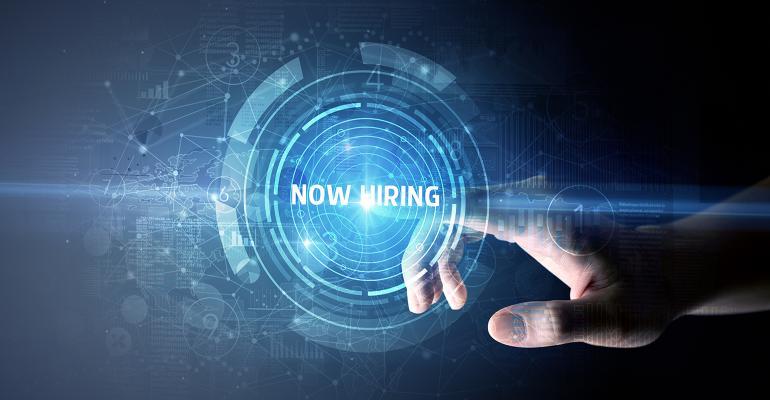 futuristic hiring
