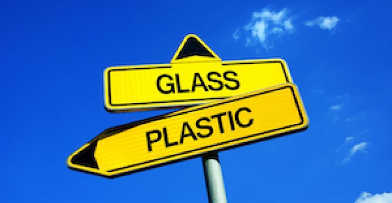 glass versus plastic