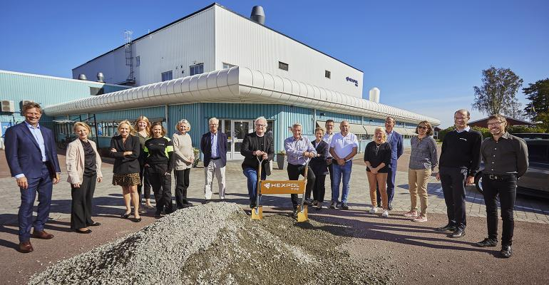 groundbreaking of new facility in Amal, Sweden