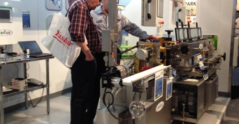 Conair installs mock cleanroom at NPE2015 to showcase expanded MedLine range