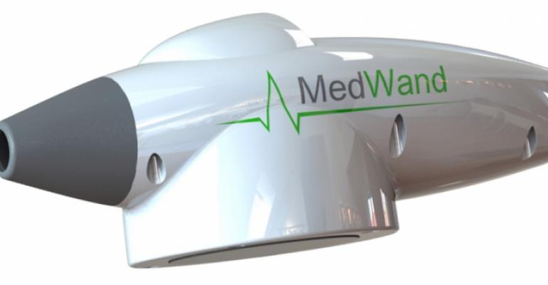 """""""Magic"""" wand that enables remote medical exams showcased at consumer electronics show"""