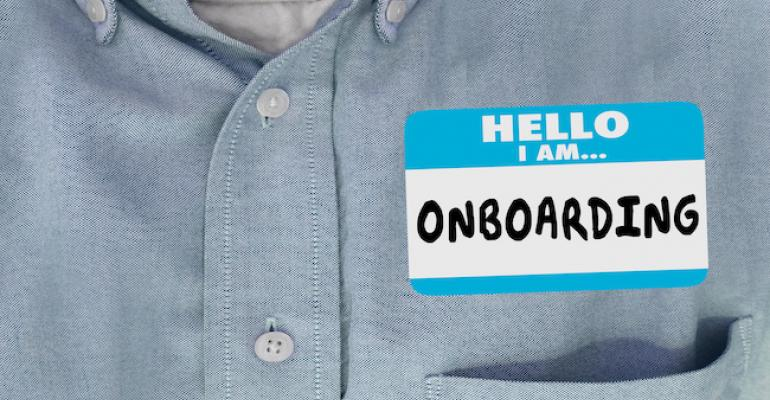 Young worker onboarding