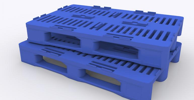 plastic pallets using PolyOne Excelite IM chemical foaming additives