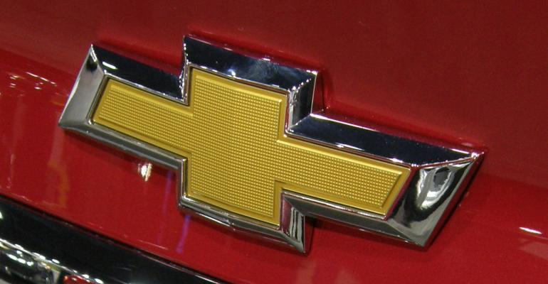In-mold decoration creates durable badge for Chevrolet