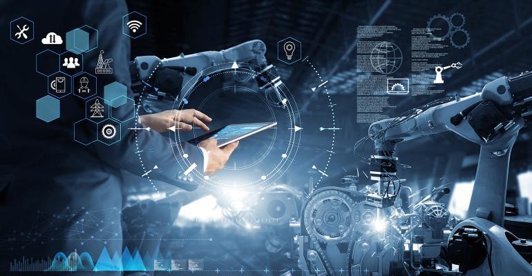 futuristic manufacturing