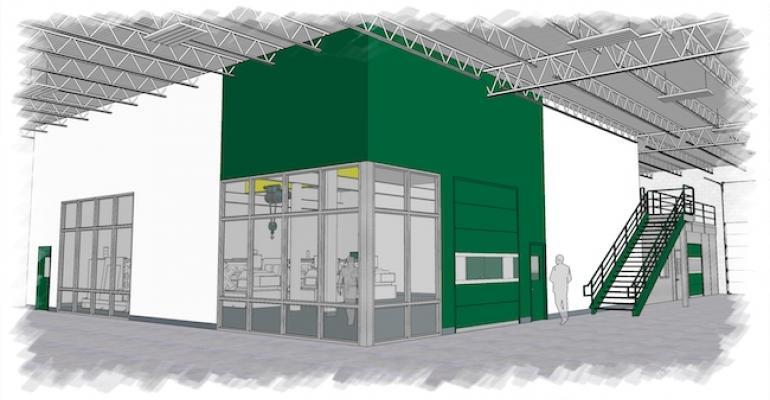 rendering of Sussex IM cleanroom